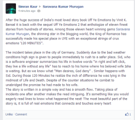 Simran Kaur on FB Timeline