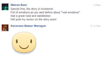 Simran Kaur on FB Messages