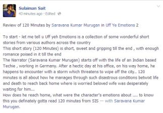 Sulaiman Sait on FB Timeline