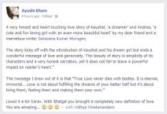 Ayushi Khare on Facebook