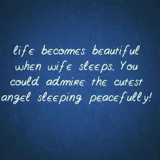 Life becomes beautiful